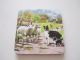 Set of 4 Drinks Coasters with Collie Dogs rounding the Sheep.